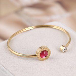 Michael Kors Red Opening Mild Steel Bracelet